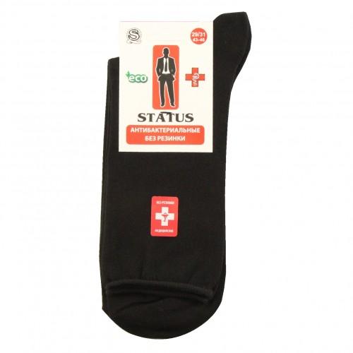 """Медицинские носки черные """"STATUS"""""""