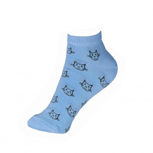 Укороченные носки с котиком VERONA