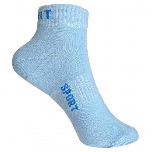 Женские  носки голубые VERONA Sport